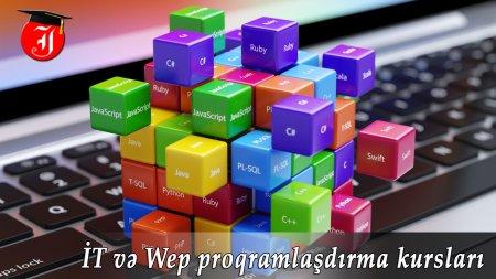 İT və Wep proqramlaşdırma kursları
