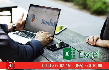 Peşəkar Excel kursları ilə, işinizin peşəkarına çevrilin.