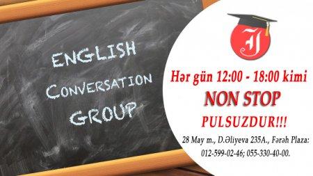 Conversation Clubs - ÖDƏNİŞSİZDİR!